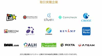 DMM WEBCAMPの提携企業