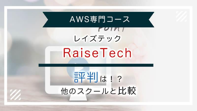 RaiseTechの評判は