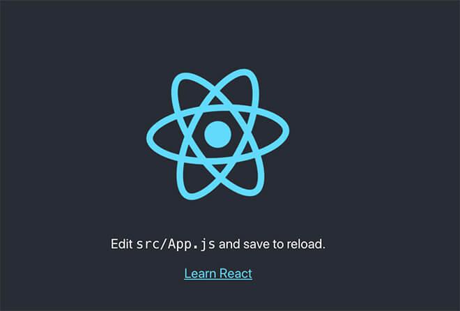 react環境構築完了