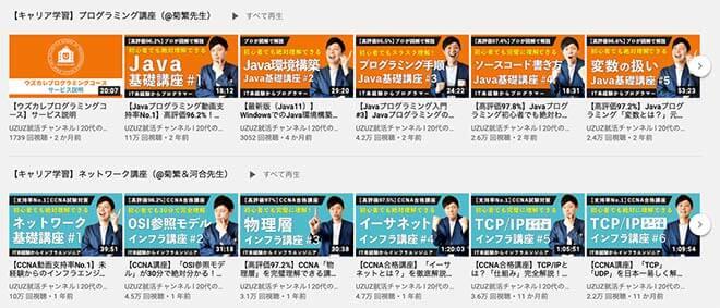 uzuzのYouTubeチャンネル