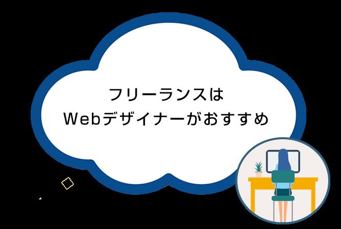 フリーランスはWebデザイナーがおすすめ